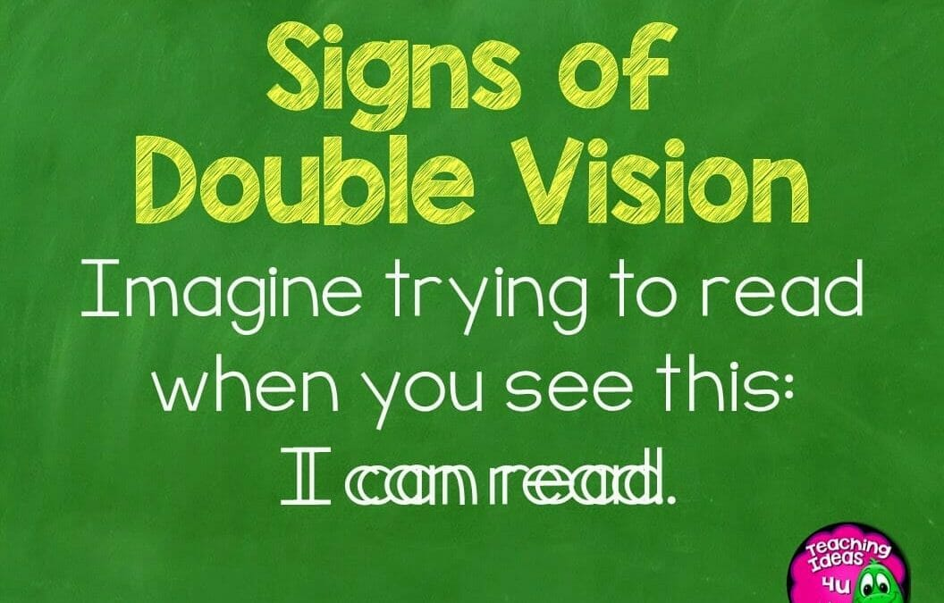 Sign of Double Vision in Students