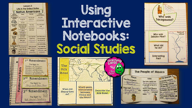 How to Use Interactive Notebooks in Social Studies