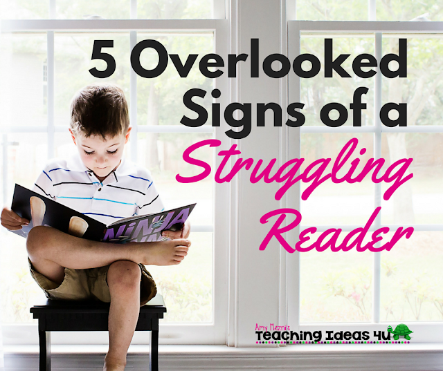 5 Overlooked Signs of a Struggling Reader
