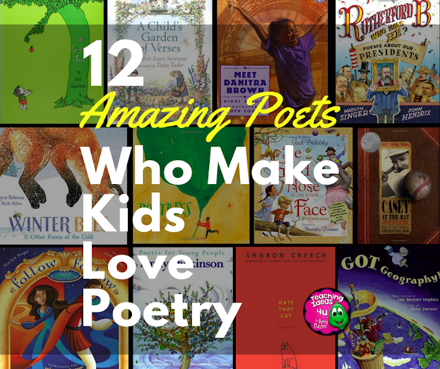 12 Amazing Poets Who Make Kids Love Poetry