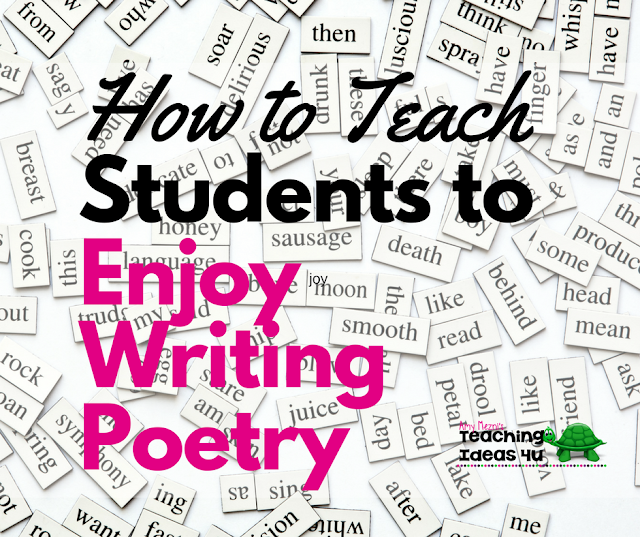 How to Teach Students to Enjoy Writing Poetry