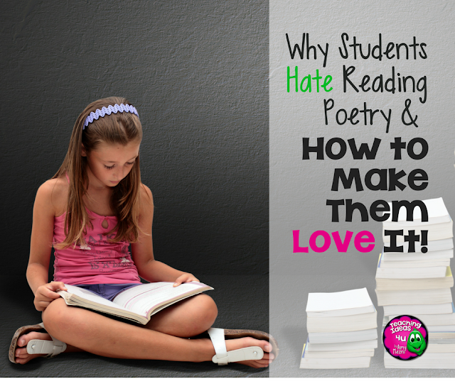 Why Students Hate Poetry and How to Make Them Love It! - Teach poetry so that kids love it, and discover free resources including apps and classroom resources.