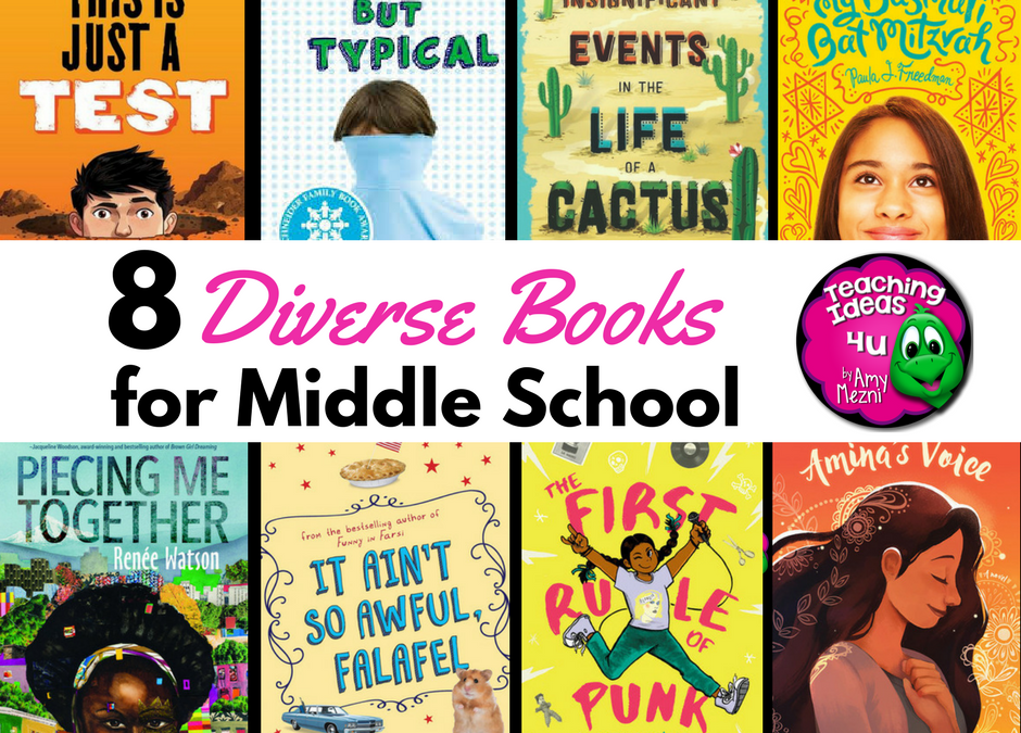 8 Diverse Books for Middle School
