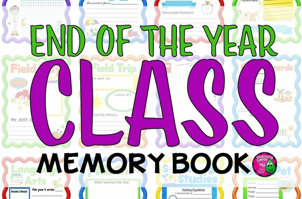 Teaching Ideas 4U - Amy Mezni - Celebrate your students with memory book