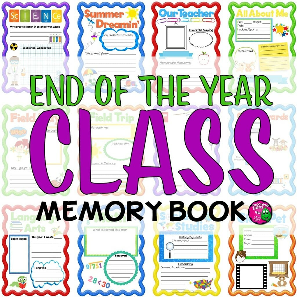 Celebrate Your Students with a Memory Book