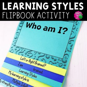 Teaching Ideas 4U - Amy Mezni - Learning Styles, Multiple Intelligence & Left Right Brain Flap Book Icebreaker