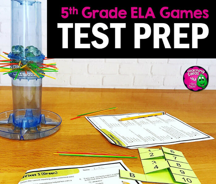 5 Fast Ways to Review for 5th Grade ELA State Tests