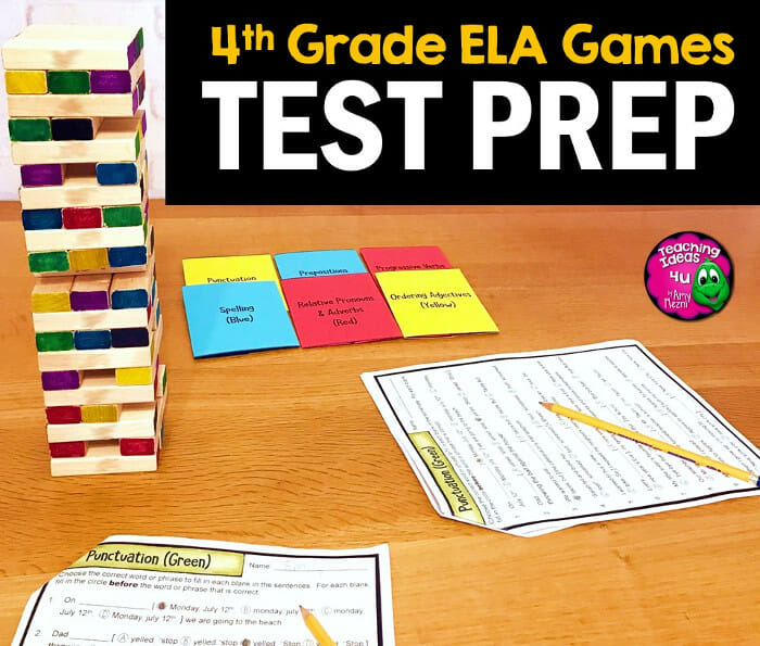 Complete Review Practice for 4th Grade ELA State Tests