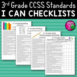 Teaching-Ideas-4U-Amy-Mezni-3rd-Grade-I-Can-Student-Checklists-for-CCSS-ELA-Math-Common-Core-Standards