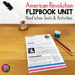 Teaching Ideas 4U - Amy Mezni - American Revolution Unit Informational Texts & Activities Low Prep