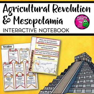 Teaching Ideas 4U - Amy Mezni - Early People & Mesopotamia Interactive Notebook Unit 6th Grade INB