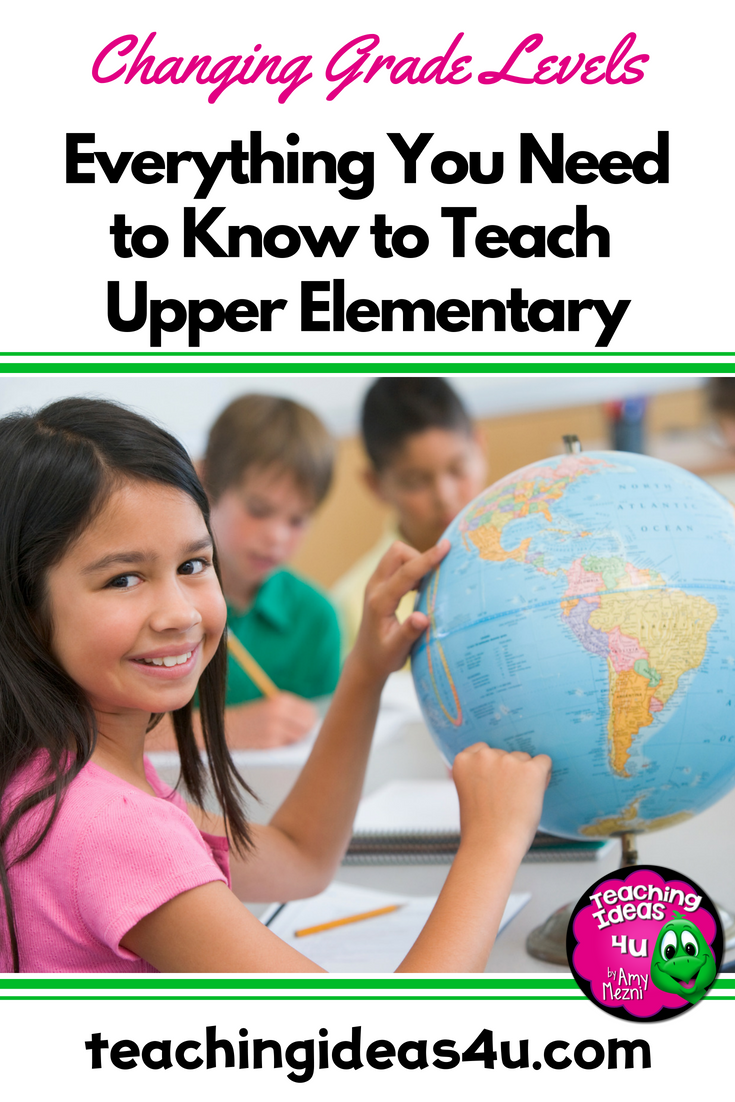 Teaching Ideas 4U - Amy Mezni - Everything you Need to Know to Teach Elementary School Grades