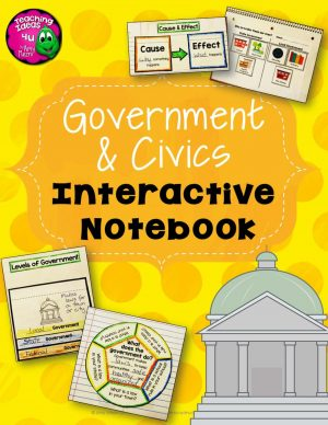 Teaching Ideas 4U - Amy Mezni - Government and Civics Interactive Notebook North America