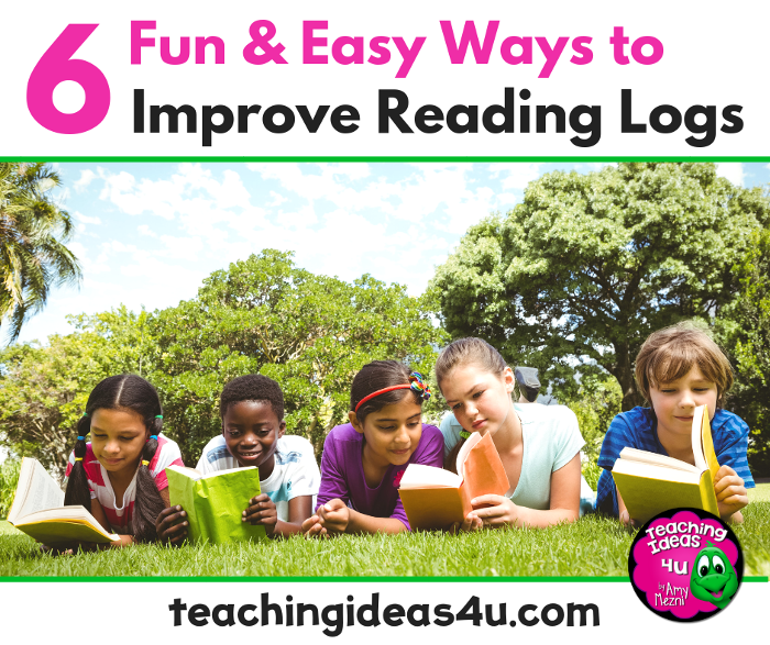 6 Fun & Easy Ways to Improve a Reading Log