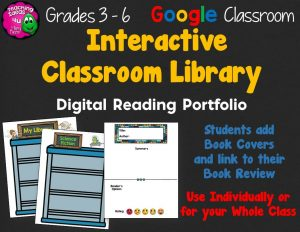 Teaching Ideas 4U - Amy Mezni - Interactive Library & Reading Portfolio Google Drive Alternative to Reading Logs