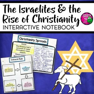 Teaching-Ideas-4U-Amy-Mezni-Israelites-Early-Christianity-Interactive-Notebook-Unit-Ancient-Israel-IN