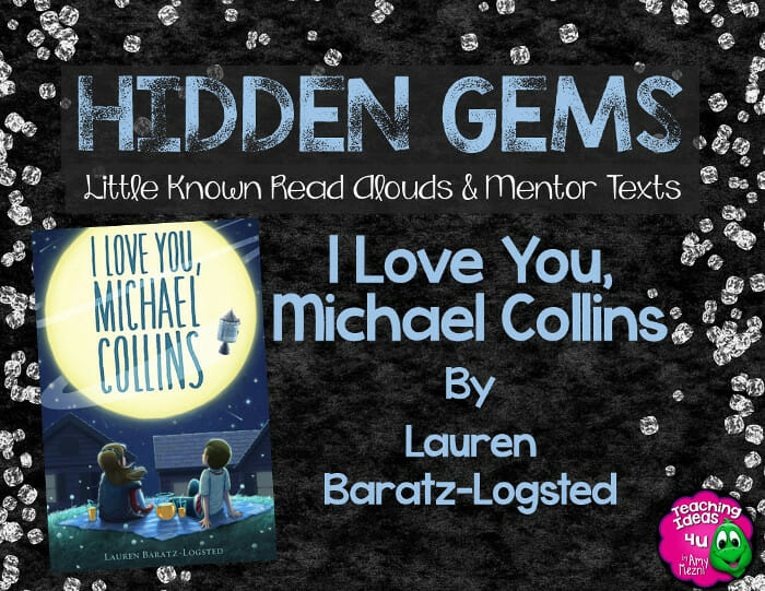 Hidden Gems I Love You, Michael Collins by Lauren Baratz-Logsted