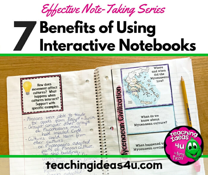 7 Benefits of Interactive Notes
