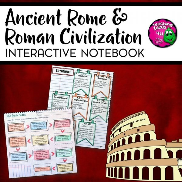 Teaching Ideas 4u - Amy Mezni - Ancient-Rome-and-Roman-Civilizations-