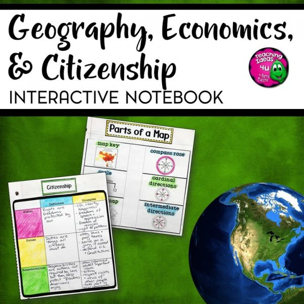Teaching Ideas 4u - Amy Mezni -Social-Studies-Geography-Economics-Citizenship
