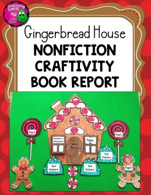 Teaching-Ideas-4U-Amy-Mezni-Gingerbread-House-Non-fict