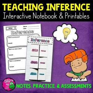 Teaching Ideas 4U - Amy Mezni - Inference Reading Strategy Unit: Notes, Practice, & Assessment
