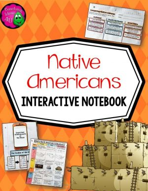 Teaching Ideas 4U - Amy Mezni - Native Americans of North America Interactive Notebook