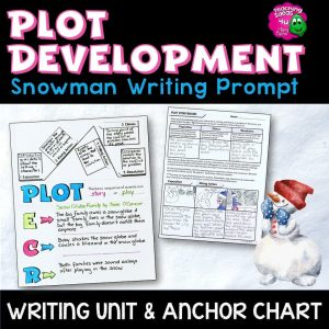 Teaching Ideas 4U - Amy Mezni - Plot Development: Snowman Writing Unit Storyboard & Anchor Chart