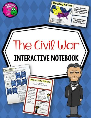 Teaching-Ideas-4U-Amy-Mezni-The-Civil-War-Interactive-Notebook