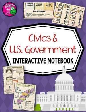 Teaching-Ideas-4U-Amy-Mezni-US-Government-Civics-Interactive-Notebook