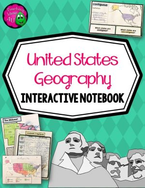 Teaching-Ideas-4U-Amy-Mezni-United-States-Geography-Its-Regions