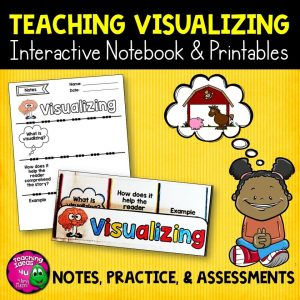 Teaching Ideas 4U - Amy Mezni - Visualizing Reading Strategy Unit: Notes, Practice, & Assessment