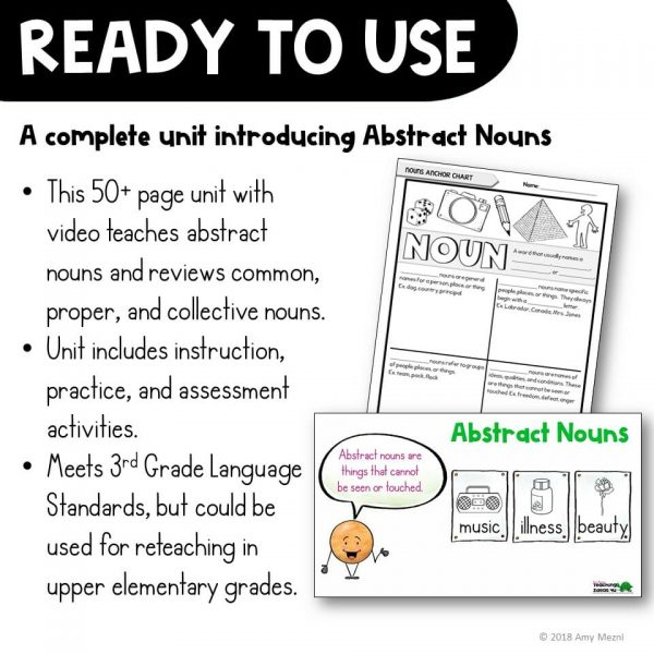 Teaching-Ideas-4u-Amy-Mezni-Abstract-Nouns-Unit