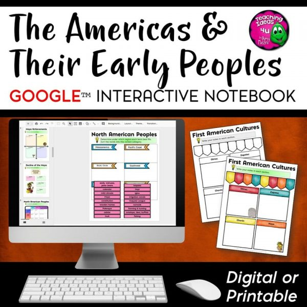 Teaching Ideas 4u - Amy Mezni - Americas Native Americans DIGITAL