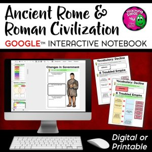 Teaching-Ideas-4u-Amy-Mezni-Roman-Empire-Civilization-DIG