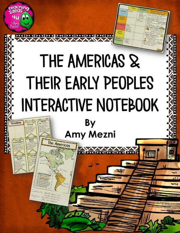 Teaching-Ideas-4u-Amy-Mezni-The-Americas-and-Their-Early-People-INB-2