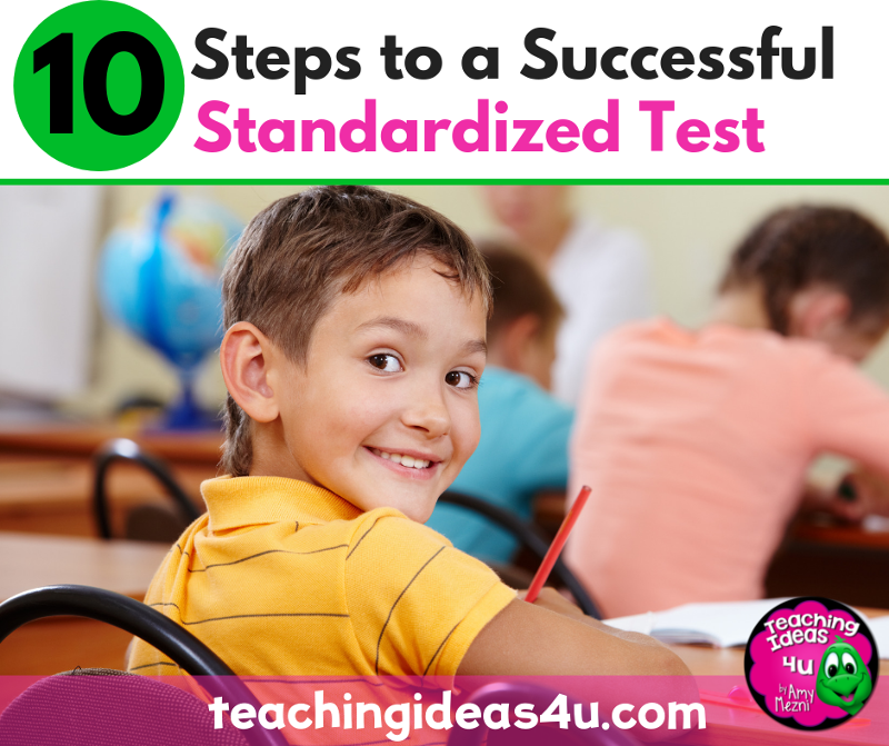 Teaching-Ideas-4u-Amy-Mezni-10-Steps-to-a-Successful-Standardized-Test