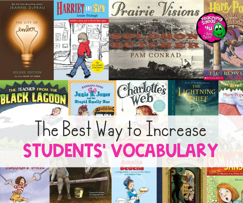 The Best Way to Increase Student's Vocabulary