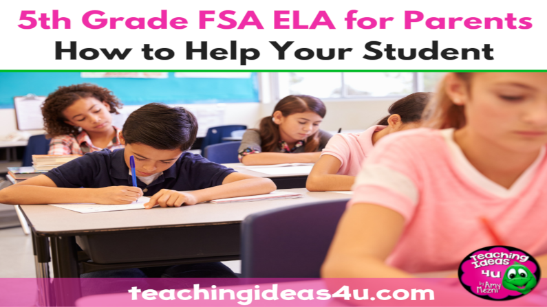 5th Grade FSA ELA for Parents