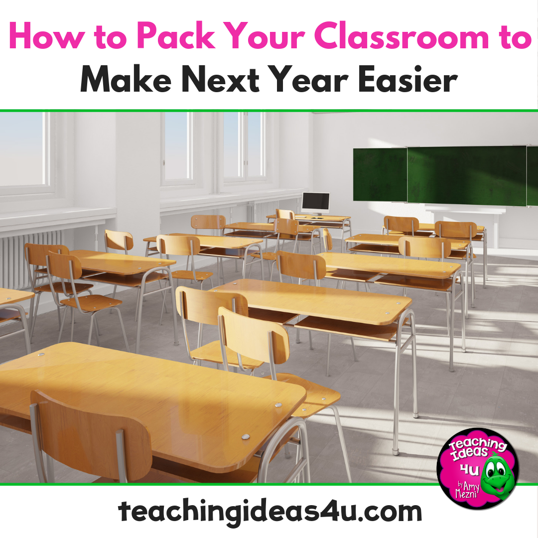 Find tips and tricks to make packing your classroom a simple and easy process