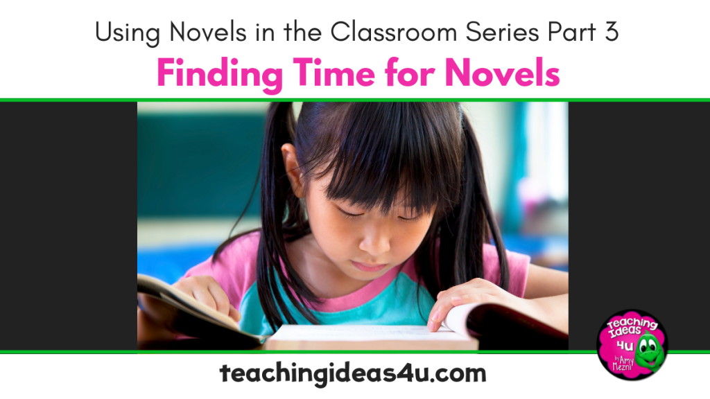 Teaching Ideas 4 u Finding Time for Novels
