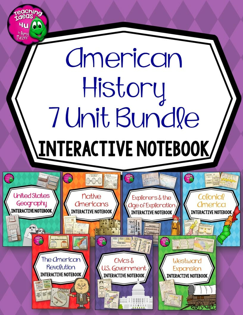 Product Review – American History 7 Unit Bundle
