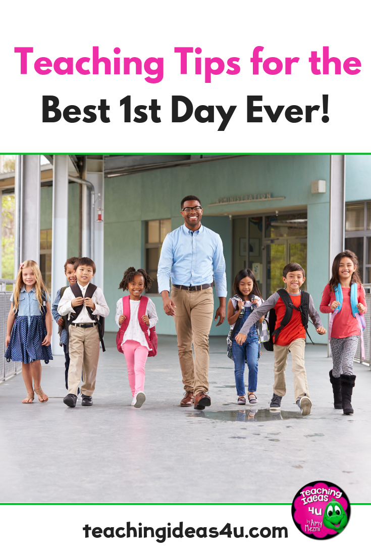 The first day of school can be overwheming for teachers and students alike. Read this blog for tips on how to make THIS first day the best ever!
