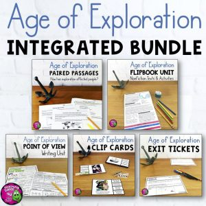 TeachingIdeas4uAgeofExplorationELAIntegratedBundleReadingWritingSocialStudies