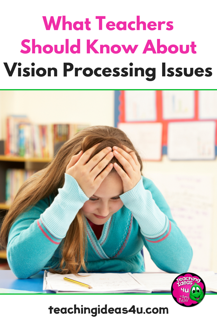 Many students deal with vision processing issues, but not many of those students get the help they need. What are the signs?