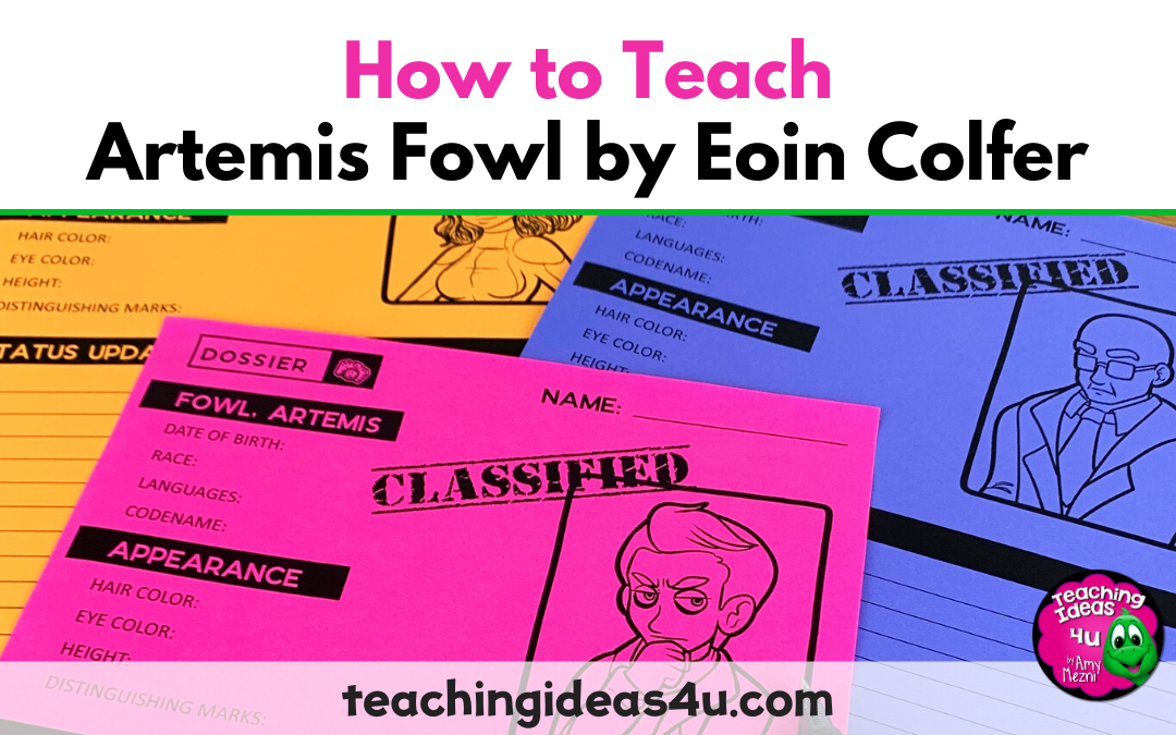 How To Teach Artemis Fowl Eoin Colfer