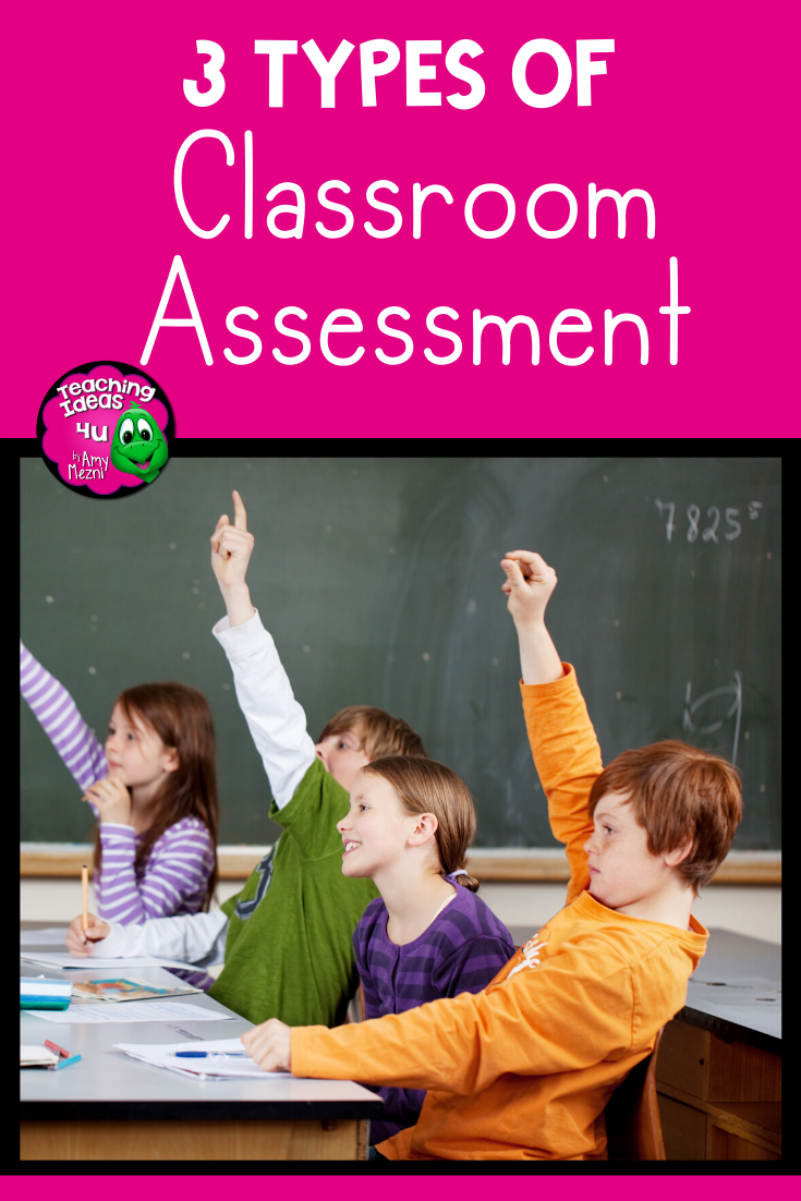 Have you ever graded a set of tests and wondered why the grades weren't better? In this post, I will focus on the three types that teachers can build into their instructional units:  diagnostic, formative, and summative.