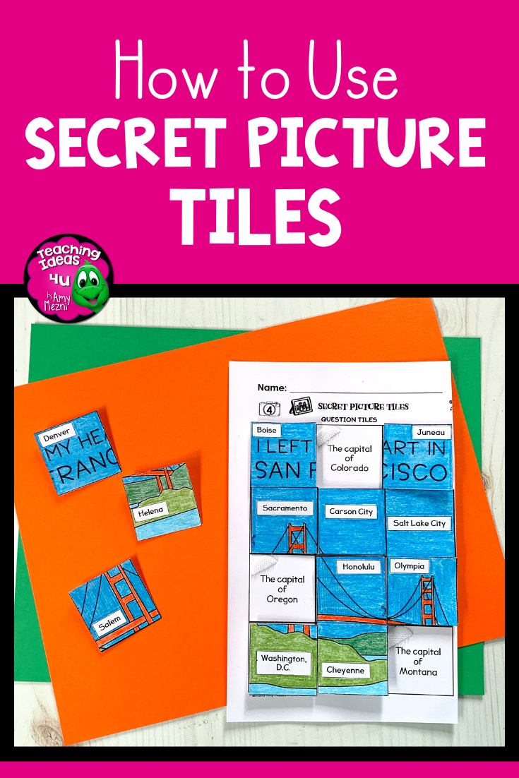 How To Use Secret Picture Tiles In Your Classroom