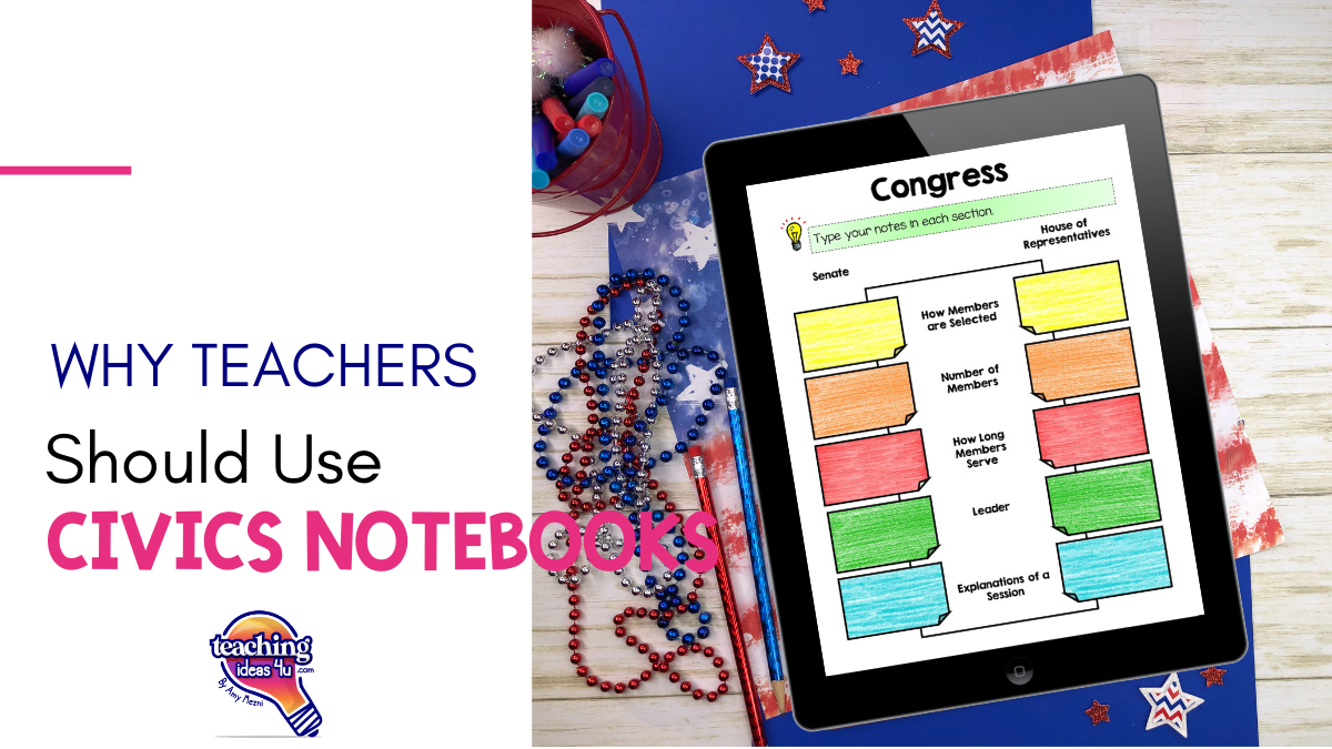 Why You Should Use Civics Interactive Notebooks In Your Classroom